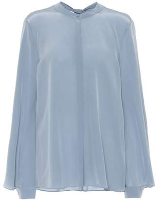 Schumacher Dorothee Playful Surprise silk blouse
