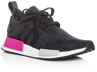 Adidas Women's NMD R1 Knit Lace Up Sneakers $170 thestylecure.com