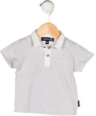 Jean Bourget Boys' Collared Short Sleeve Shirt