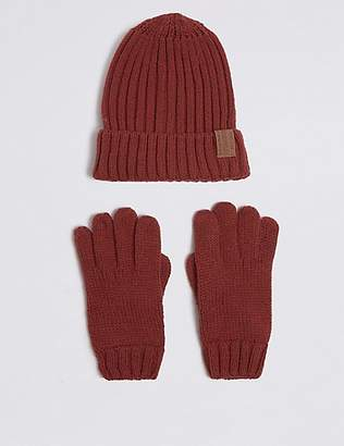 Marks and Spencer Kids' Hat & Gloves Set