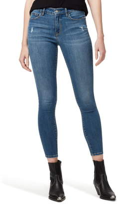 Sanctuary Social Standard Distressed Ankle Skinny Jeans