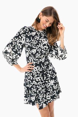 Tanya Taylor Block Print Mel Dress