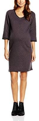 Mama Licious Mamalicious Women's Mlquini Lia 3/4 Jersey Dress NF Knee-Length Long Sleeve Dress,XL
