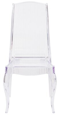 clear Alston Carey Stacking Chair (Set of 2) Alston