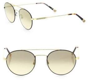 Etnia Barcelona Vintage Born Sun 50MM Double-Bridged Round Sunglasses