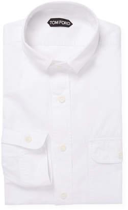 Tom Ford Flap Pocket Dress Shirt