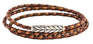 David Yurman Chevron Triple Wrap Bracelet