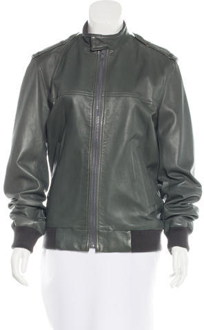 Marc By Marc JacobsMarc by Marc Jacobs Zip-Up Leather Jacket