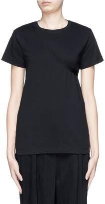 Helmut Lang Deconstructed cutout back sash T-shirt