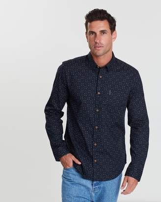 Ben Sherman Scattered Geometric Print Shirt