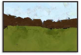 Bloomingdale's Artisan Collection Green Fields Wall Art - 100% Exclusive