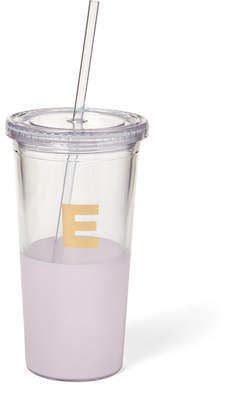 Kate Spade Pink Monogram Insulated Tumbler