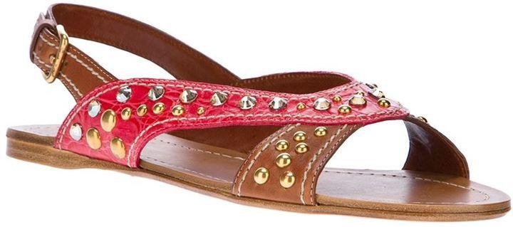 Car Shoe studded sandal