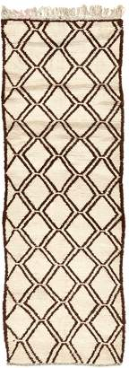 """ABC Home Vintage Moroccan Wool Runner - 3'3""""x9'10"""""""