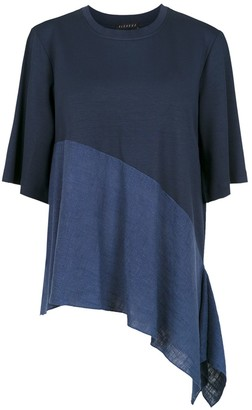 Flavia Alcaçuz panelled blouse