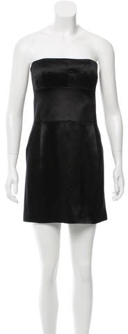 Marc Jacobs Marc Jacobs Silk Strapless Dress