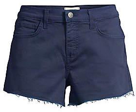 L'Agence Women's Ryland High-Rise Denim Cut Off Shorts