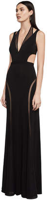 BCBGMAXAZRIA Adele Open-Back Dress