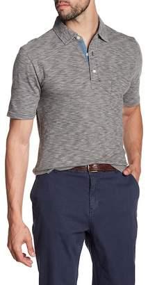 Faherty BRAND Heathered Short Sleeve Polo