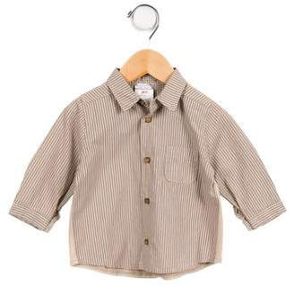 Catimini Boys' Striped Button-Up Shirt