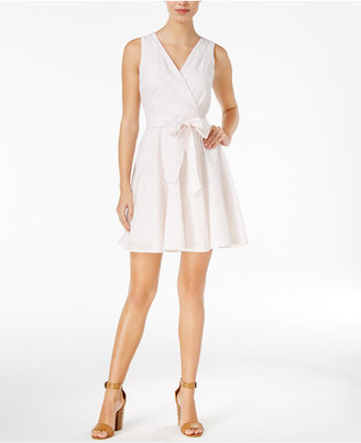 Maison Jules Fit & Flare Wrap Dress, Only at Macy's $79.50 thestylecure.com