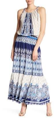 Hale Bob Halter Print Maxi Dress