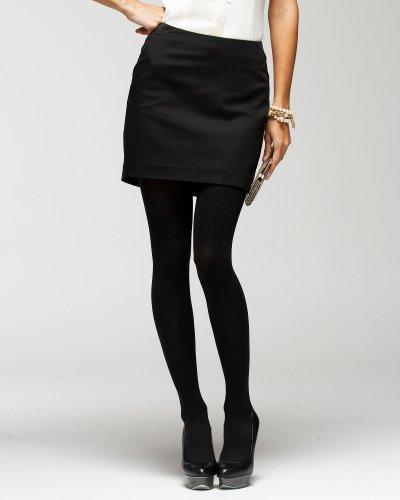 Lux Twill Mini Skirt