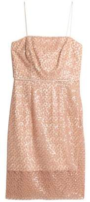 Milly Laci Embellished Tulle Dress