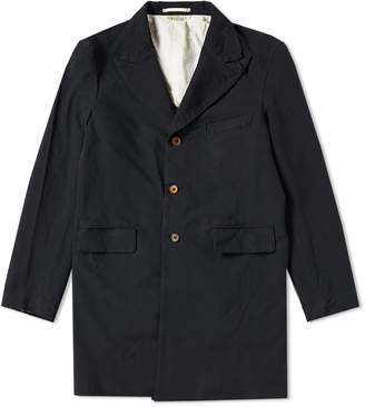 Comme des Garcons Twill Trench Coat