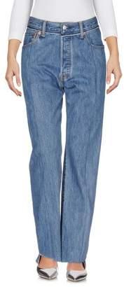 Vetements x LEVI'S Denim trousers