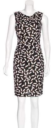 Diane von Furstenberg Silk Sleeveless Mini Dress w/ Tags