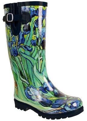 NOMAD Puddles Irises Rain Boots