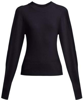 Isabel Marant Conroy Cashmere Sweater - Womens - Navy