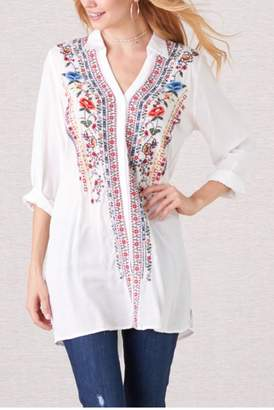Paparazzi Viejo Embroidered Tunic