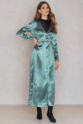Glamorous Overlap Tie Dress