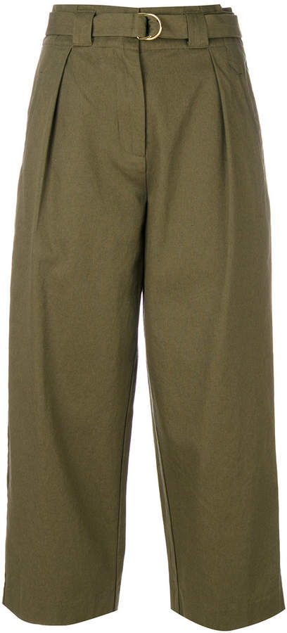 Alexander Wang Paperbag high waisted trousers
