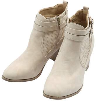 6b379747c6a Perforated Ankle Boot Womens - ShopStyle UK