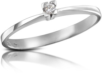 Forzieri 0.03 ctw Diamond Solitaire Ring