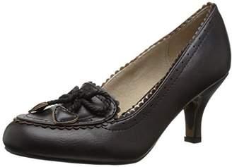 Bettie Page Women's BP310-Capri Slip-On Loafer