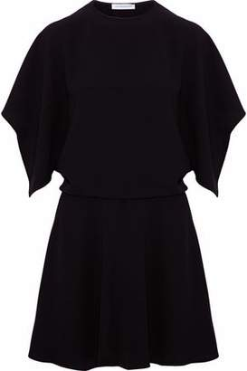 J.W.Anderson Cutout Draped Crepe Mini Dress