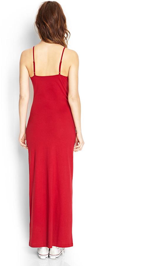 Forever 21 V-Neck Maxi Dress