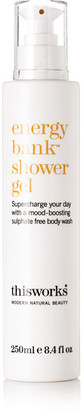 This Works - Energy Bank Shower Gel, 250ml - Colorless $29 thestylecure.com