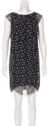 3.1 Phillip Lim Silk Floral Print Dress