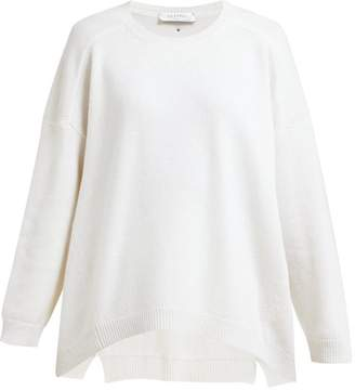 Valentino Rockstud Cashmere Sweater - Womens - Ivory