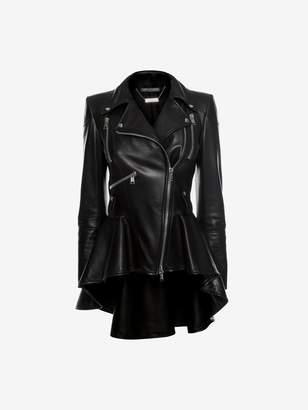 Alexander McQueen Leather Biker Jacket