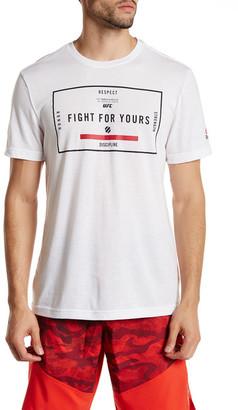 Reebok UFAN Short Sleeve Tee $35 thestylecure.com