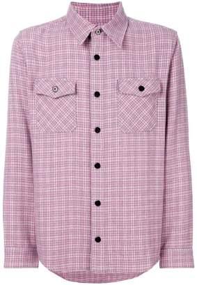 Men Pink Flannel Shirt Shopstyle