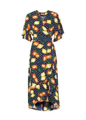 Freya Kitri Fruit Print Wrap Dress