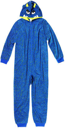 Arizona Boys Character Blanket Sleeper Long Sleeve One Piece Pajama-Big Kid Boys