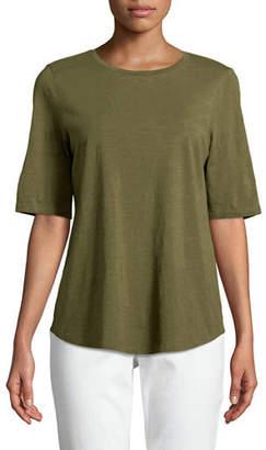 Eileen Fisher Organic Cotton Slub Top, Plus Size